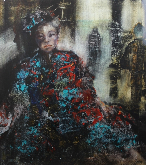Kate Bentley, Decoration, Silk Kimono II