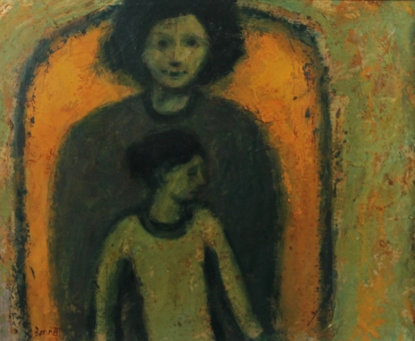 Michael Bennett, Mother and Daughter (Yellow Arch)