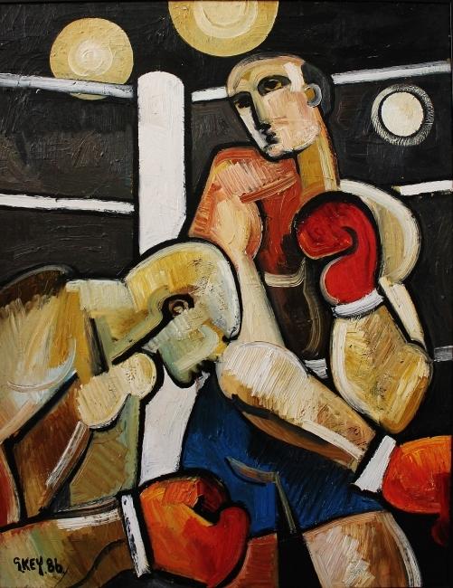 Geoffrey Key, The Fight