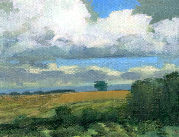 Summer Landscape (i) - Rebecca Payn