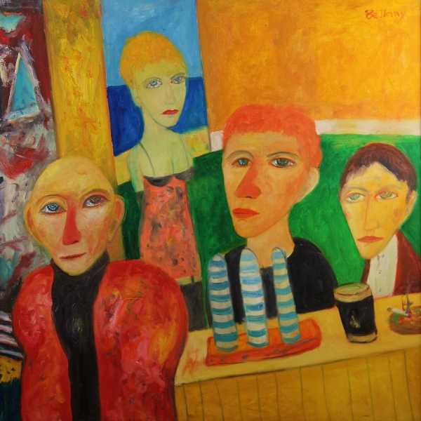 The Pub by John Bellany