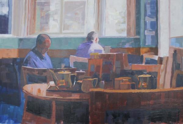 Blue Interior by Ceri Allen