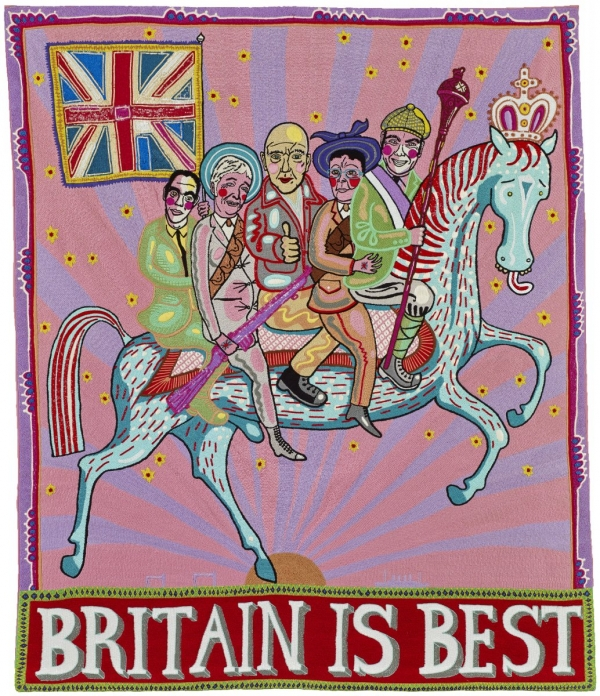 Britain is Best - Embroidery by Grayson Perry