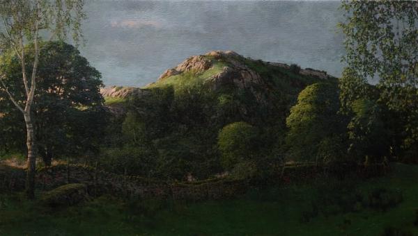 Nameless Hill after Midsummer