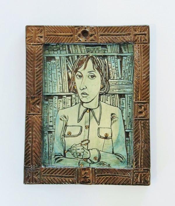 Portrait of Kate Bernard by Grayson Perry (RA)