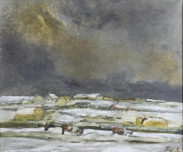Sheila Fell, Solway Plain Under Snow