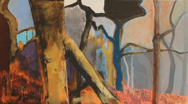 Trees Standing, Still by Jess Pigott