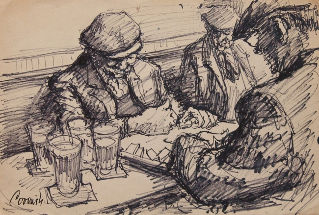 Norman Cornish - new works on paper