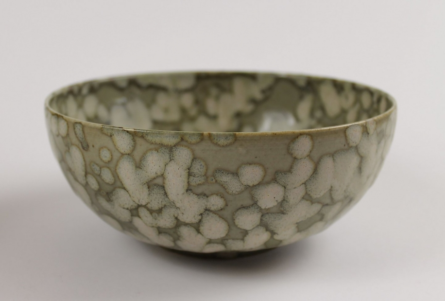 "Low Chalice Bowl, ""Blossom"" by Ivar Mackay"