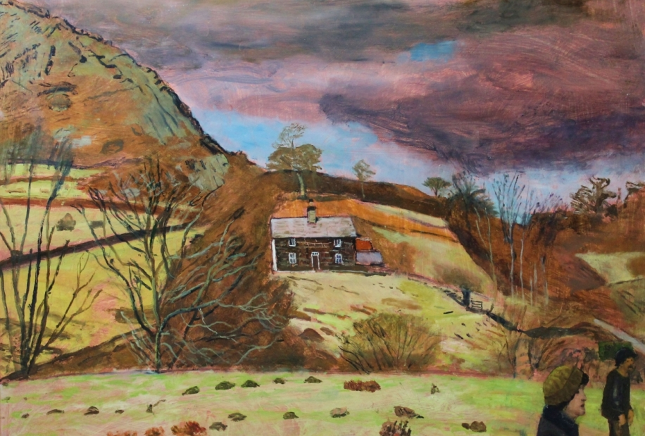 Stormy Day, North Wales by Carel Weight RA, CBE