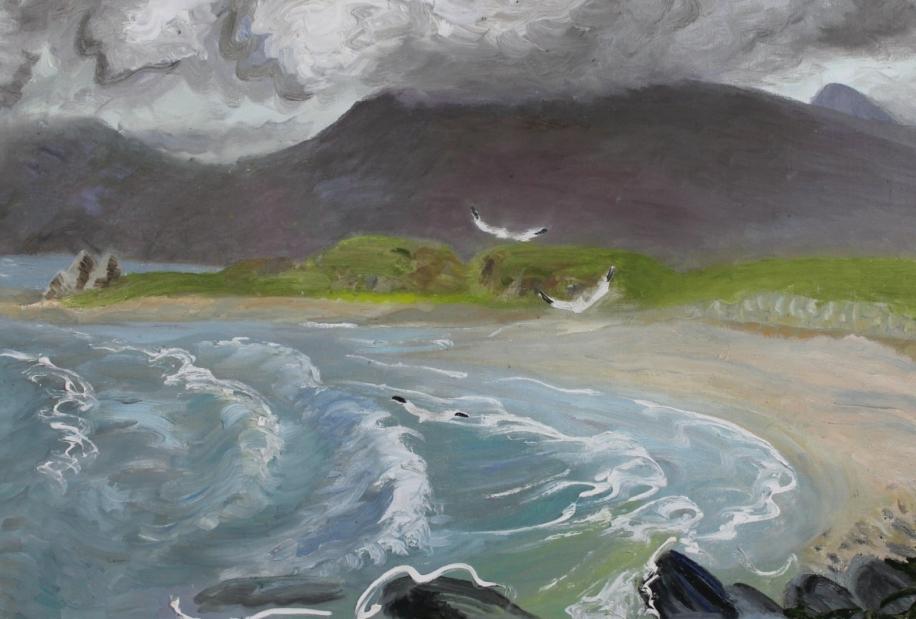 Isle of Canna by Winifred Nicholson