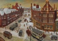 Snow fall, Barrow