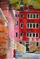 Gondolier, San Marco, Venice