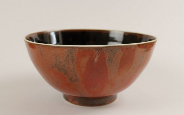 "Large Monastic Bowl, ""Turned Earth"" by Ivar Mackay"