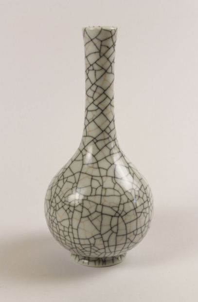 Long Flared Necked Bottle by Ivar Mackay