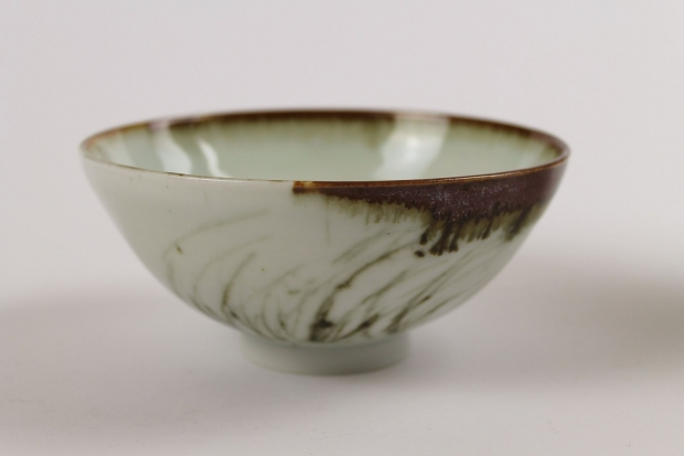 "Bowl, ""Sea Grasses""  by Ivar Mackay"