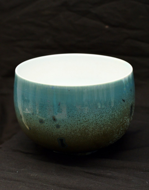 Small bowl i by John Stroomer