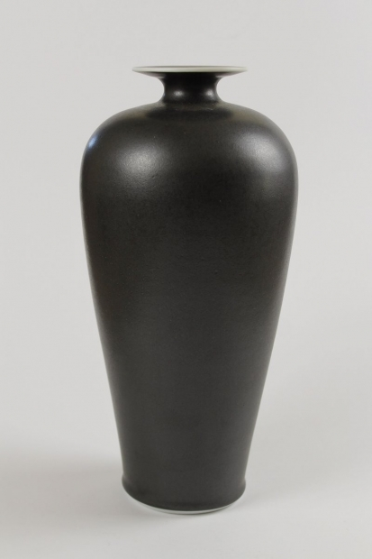 Saturn Rimmed Tall Robust Bottle by Ivar Mackay