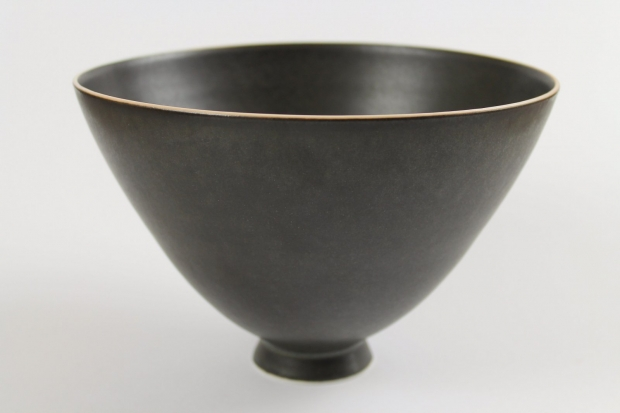 Tall Pedestal Footed Bowl by Ivar Mackay