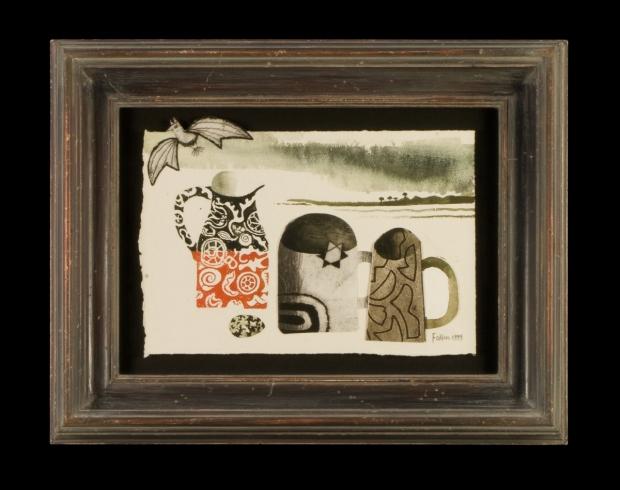 Still Life with Bat - 1999 by Mary Fedden  RA