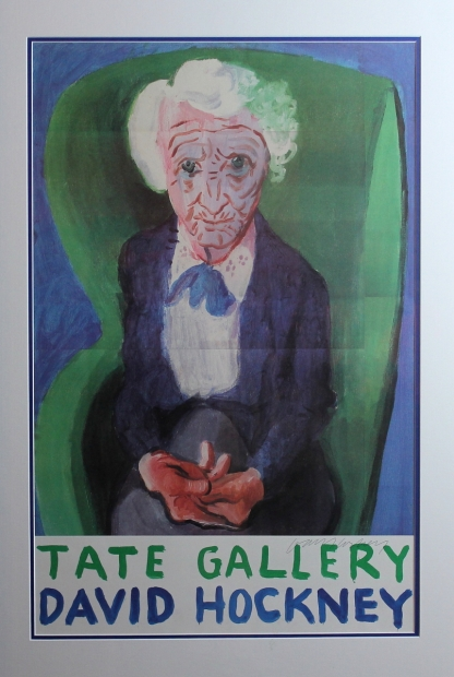 My Mother (Bridlington) 1988 - One of 250 for the 1988 Tate retrospective. Signed by Hockney by David Hockney RA