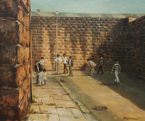 Cricket Match, Darwen by Bill Bell