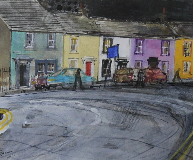 Kirkgate Terrace, Cockermouth by Peter Quinn