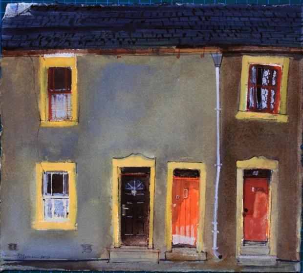 Three Windows, Three Doors, Cockermouth by Peter Quinn