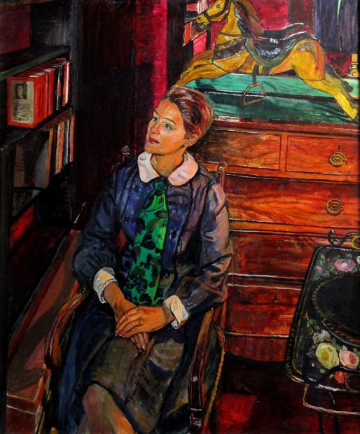 Seated Lady by Carel Weight RA, CBE
