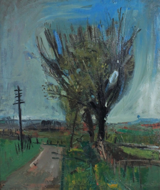 A Country Road by Joan Eardley (RSA)