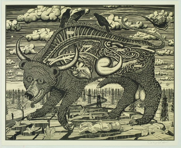 Animal Spirit (Yellow) by Grayson Perry  RA