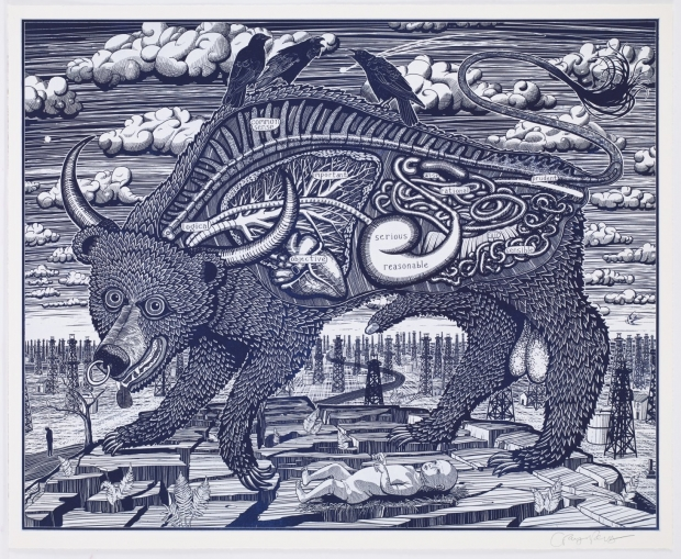 Animal Spirit (Blue) by Grayson Perry  RA