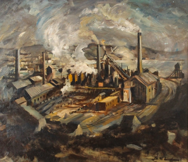 Iron Works, Workington by Bill Bell