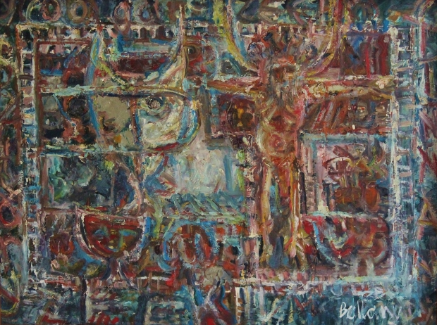 Religious Thought 1962 by John Bellany (RA, CBE)