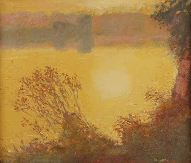 Bend in the Eden, 1st study by Michael Bennett