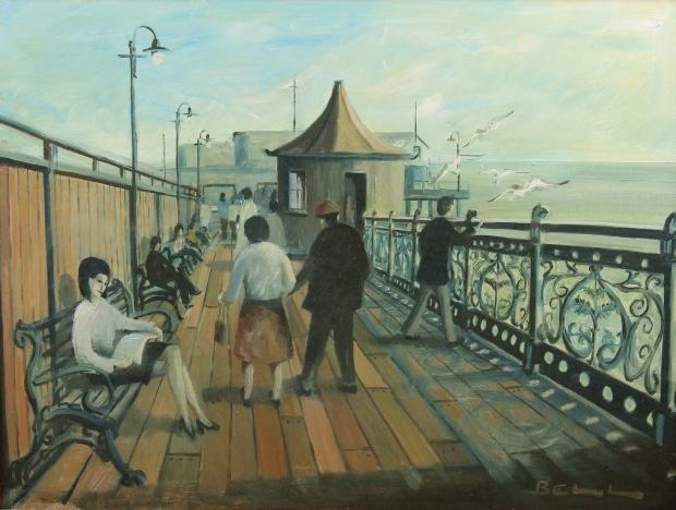 Morecambe Pier by Bill Bell