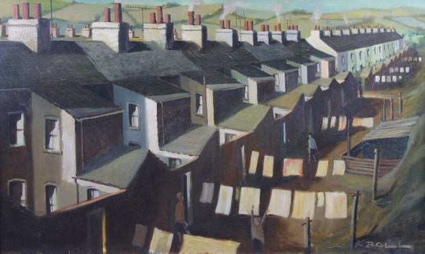 Steel Street, Askam in Furness by Bill Bell