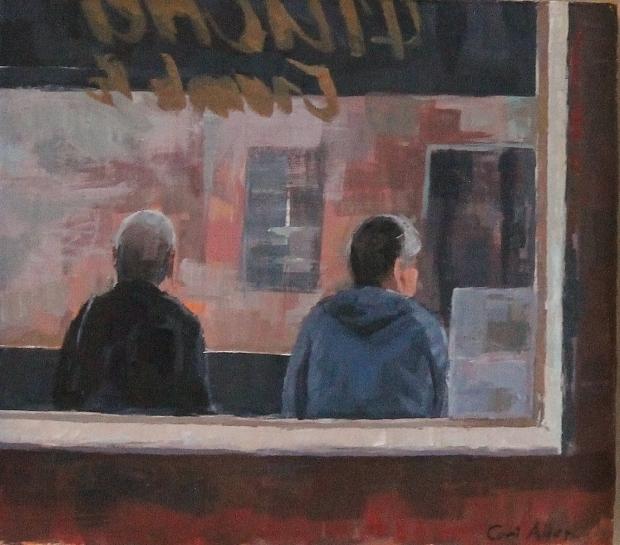 Bus stop study by Ceri Allen