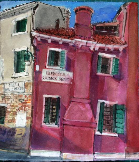 Calle del Cristo, Venice  by Peter Quinn