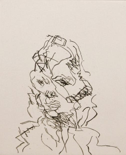 Catherine 1989 by Frank Auerbach