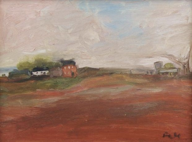 Farm near Dovenby  by Sheila Fell RA FRSA
