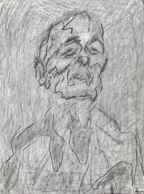 Self Portrait by Frank Auerbach