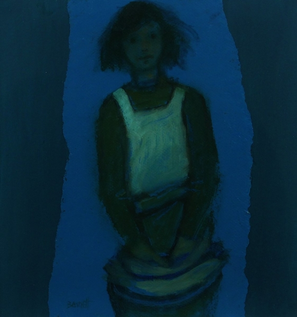 Fifth study for Fisherman's Daughter 2011 by Michael Bennett