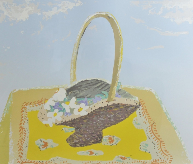 Narcissi in Basket by Winifred Nicholson