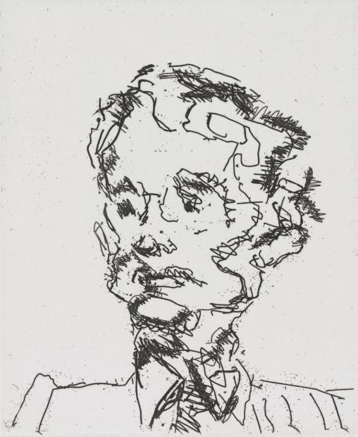 Geoffrey 1990 by Frank Auerbach