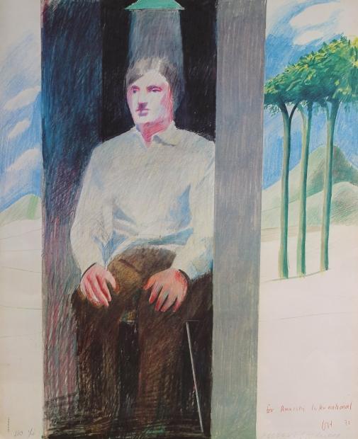 Prisoner 1975 by David Hockney RA