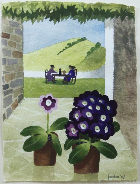 Ladies Who Lunch by Mary Fedden  RA