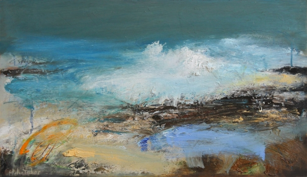 Incoming tide by Helen Tabor