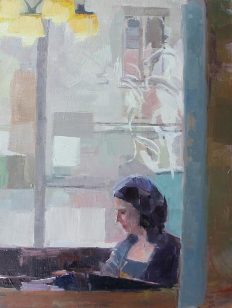 Interior study by Ceri Allen