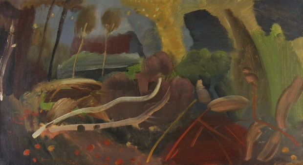 Felled Trees 1942 by Ivon Hitchens